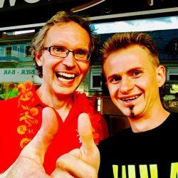 Mit DJ Hazy - Partymeile vom Andreas Gabalier Konzert