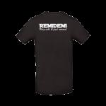 T-Shirt Remidemi schwarz hinten